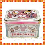 ミッキー&フレンズ 缶入りクッキー バタークッキー お菓子 (東京ディズニーランド限定)