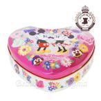 ミッキーマウス ミニーマウス ハート缶入りチョコレート お菓子 (東京ディズニーランド限定)