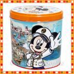 ミッキーマウス 缶入りチョコレートクランチ オーバー・ザ・ウェイブ ミルクチョコレートクランチ お菓子 (東京ディズニーシー限定)