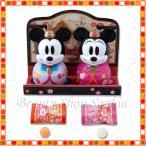 ミッキー&ミニー お雛様型ケース入りキャンディー ひな祭り 2020 おひな様 ひな人形 桃の節句 お菓子 ディズニー グッズ お土産(ディズニーリゾート限定)画像