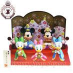 ミッキー&フレンズ ひな人形(三人官女) ひな祭り 2021 おひな様 ひな飾り 雛人形 ひな人形 ディズニー グッズ お土産 (東京ディズニーリゾート限定)