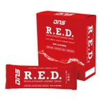 DNS R.E.D.(500ml用粉末/10袋セット/スポーツドリンク)16g×10袋 ブラッドオレンジ