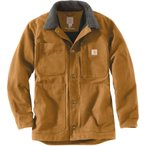 �����ϡ��� carhartt DUCK FULL SWING CHORE COAT �ե륹������ ���祢������ CARHARTT BROWN
