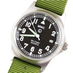 MWC ミリタリー ウォッチ カンパニー G10 LM Stainless Steel Military Watch OLIVE GREEN