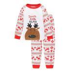 サンタ コスプレ トナカイ 衣装 鹿 コスチューム 子供 キッズ クリスマス仮装 ルームウェア 子供服 寝巻き コットン 暖かい