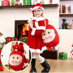 クリスマス プレゼント ラッピング バッグ サンタ サンタクロース  バッグ