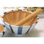 ごま 納豆 味噌/ 十草 スリ鉢(L) /陶器 卓上小物 テーブルウェア