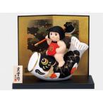 五月人形 コンパクト 出世 こどもの日 錦彩鯉のぼり金太郎(鉞かつぎ)