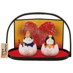 雛人形 コンパクト 陶器 小さい 可愛い ひな人形/ 桜つぼみ雛 /ミニチュア 初節句 お雛様 おひな様 雛飾り