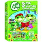 (在庫あり)リープフロッグ Leap Frog DVD3枚+ブックセット 北米版DVD 3DVD Learning Collection フォニックス入門編としてもお勧めです