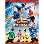 輸入版 侍戦隊シンケンジャー Vol. 4 / Power Rangers Samurai Vol. 4: The Sixth Ranger 北米版DVD