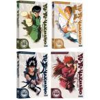 送料無料 幽遊白書 全4巻+劇場版+映像白書(OVA)セット 北米版DVD 全112話+劇場版+映像白書(OVA)収録