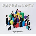 SENSE or LOVE 通常盤 初回プレス  CD JACA-5752