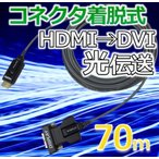 NAPA HDMI/DVI コネクタ着脱式 光延長ケーブル 70m