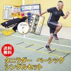 タニラダー ベーシックシングルセット  解説DVDとテキスト付きトレーニングラダー 送料無料 ラダートレーニング 走力