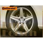 アルミホイール&スタッドレスタイヤ組付4本セット・M-Benz/ベンツ Cクラス/クーペ:W205・コンチネンタル225/45R18