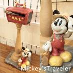 ポスト Disney ディズニー ミッキー ポスト ガーデニング 郵便ポスト Mail Box 新築 チップ トラベル 郵便受け トラベラーミッキー