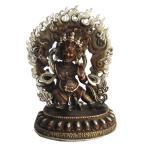 ネパール仏像 真鍮製 ヴァジュラ・パーニ25