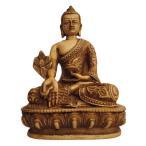 仏像 アンティーク仕上げ 薬師如来像33