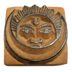 木彫り アジアン雑貨 ネパール・仏像・仏具・手彫りスタンプ 10 クリックポスト選択 送料200円