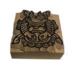 木彫り アジアン雑貨 ネパール・仏像・仏具・手彫りスタンプ 14 クリックポスト選択 送料200円