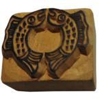 木彫り アジアン雑貨 ネパール・仏像・仏具・手彫りスタンプ 17 クリックポスト選択 送料200円