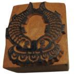 木彫り アジアン雑貨 ネパール・仏像・仏具・手彫りスタンプ 18 クリックポスト選択 送料200円