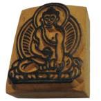 木彫り アジアン雑貨 ネパール・仏像・仏具・手彫りスタンプ 19 クリックポスト選択 送料200円