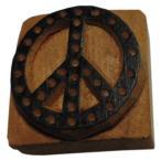木彫り アジアン雑貨 ネパール・仏像・仏具・手彫りスタンプ 26 クリックポスト選択 送料200円