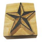 木彫り アジアン雑貨 ネパール・仏像・仏具・手彫りスタンプ 33 クリックポスト選択 送料200円