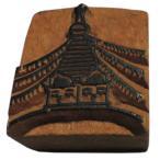 木彫り アジアン雑貨 ネパール・仏像・仏具・手彫りスタンプ 4 クリックポスト選択 送料200円