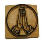 木彫り アジアン雑貨 ネパール・仏像・仏具・手彫りスタンプ 9 クリックポスト選択 送料200円