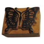 木彫り アジアン雑貨 ネパール・アニマル・手彫りスタンプ 17 クリックポスト選択 送料200円