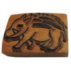 木彫り アジアン雑貨 ネパール・アニマル・手彫りスタンプ 31 クリックポスト選択 送料200円