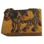 木彫り アジアン雑貨 ネパール・アニマル・手彫りスタンプ 34 クリックポスト選択 送料200円