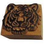 木彫り アジアン雑貨 ネパール・アニマル・手彫りスタンプ 36 クリックポスト選択 送料200円