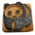 木彫り アジアン雑貨 ネパール・アニマル・手彫りスタンプ 39 クリックポスト選択 送料200円