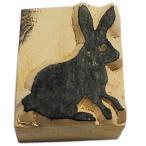 木彫り アジアン雑貨 ネパール・アニマル・手彫りスタンプ 43 クリックポスト選択 送料200円
