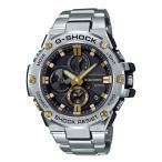 G-SHOCK g-shock Gショック GST-B100D-1A9JF カシオ CASIO G-STEEL Gスチール モバイルリンク機能 クロノグラフ ブラック × ゴールド 黒 金色