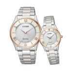 ペアウォッチ Citizen Collection ペア 腕時計 ピンク