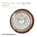 シチズン CITIZEN リズム時計 からくり 掛け時計 スモールワールドコンベルS 4MN480RH23
