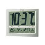シチズン CITIZEN 掛け時計 クロック 電波デジタル時計 パルデジットワイド140 掛置兼用 温湿度計付 8RZ140-019