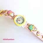 J-アクシス  腕時計 リトルツインスターズキッズウォッチ SR-V07 ピンク