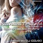 Yahoo!クラブアイテム専門店 e-BMS(爆買いセール品) USでハヤリのナンバー全部入り! Newestream 4 - Los Angeles Party Mix - DJ COAKI (国内盤MIXCD)(あす楽対応)