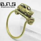 MINI ミニキーリング キーホルダー ブラス 真鍮 (キーチェーン、鍵、ミニクーパー ローバー オースチン Rover Austin MG Cooper 旧車 クラシックカー 自動車) - 2,057 円