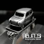 MINI ミニキーリング キーホルダー シルバー925 銀 (キーチェーン、鍵、ミニクーパー ローバー オースチン Rover Cooper 旧車 クラシックカー 自動車) - 9,158 円