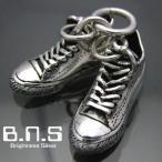 最高品質 silver shoes シルバーバスケットシューズペンダント シルバー925(靴 スニーカー バッシュ コンバース オールスター)