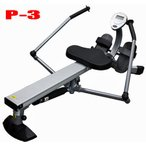 ローイングマシン 中旺ヘルスP-3 ボート漕ぎ運動で足、腕、胸のトレーニングができる