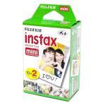 フジフィルム チェキ用フィルム instax mini 2パック品(10枚撮り×2)