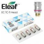 EC Head TC-Ti/Ni 温度管理用 MELOシリーズ共通コイル iJust2 MELO/MELO2/MELO3 5個 Eleaf 【正規品】